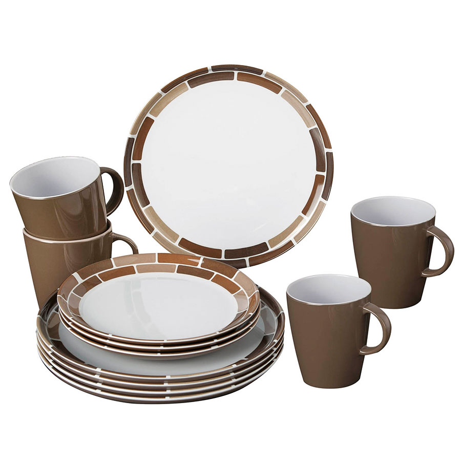 Brunner Campinggeschirr Set Chocolate