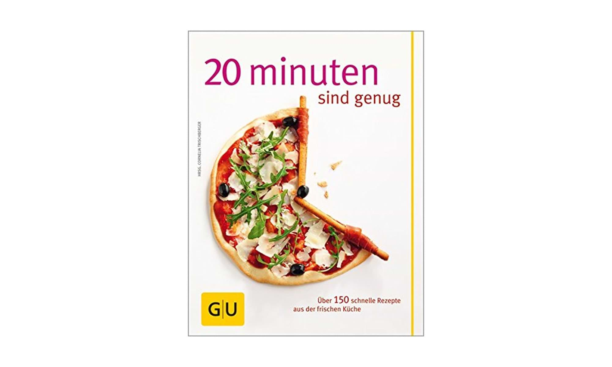 Camping Kochbuch 20 Minuten sind genug