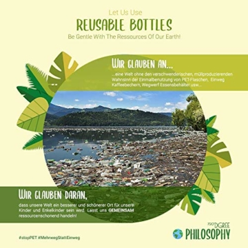 Uberbottle 720dgree Trinkflasche Umwelt