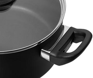AmazonBasics - 8-teiliges Kochgeschirr mit Antihaftbeschichtung - 3