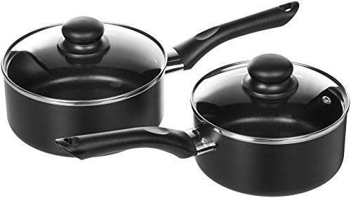AmazonBasics - 8-teiliges Kochgeschirr mit Antihaftbeschichtung - 5