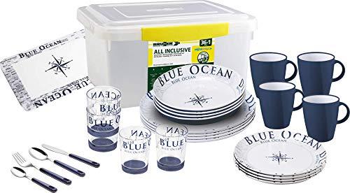 BRUNNER Geschirr-Set Blue Ocean