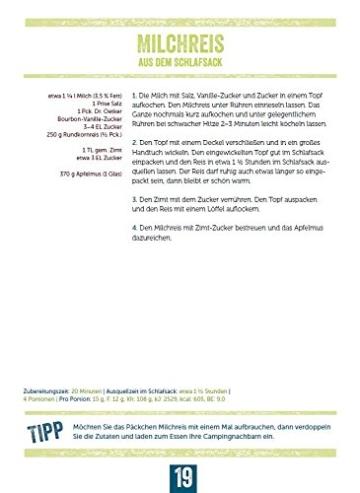 Dr. Oetker Campingküche Kochbuch Rezept