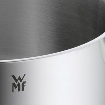 WMF Diadem Plus Kochtopf, hoch 20cm, Glasdeckel, Fleischtopf 3,7l, Cromargan Edelstahl poliert, Topf Induktion, unbeschichtet - 5