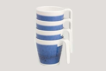 sesua melamingeschirr azure-blau