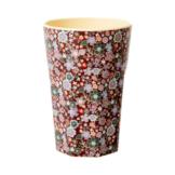 """rice Becher Melamin Trinkbecher """"Fall Floral"""", H13cm"""