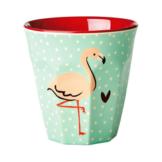 "rice Becher Melamin Trinkbecher ""Flamingo"", H9cm"