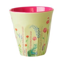 """rice Becher Melamin Trinkbecher """"Summer Flowers"""", H9cm"""
